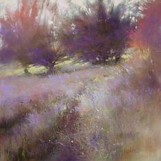 Wonderful oil landscape by Barbara Newton.