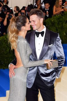 —The Cutest Celebrity Couples From The 2017 Met Gala— We love Gisele Bündchen And Tom Brady