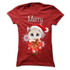 Cat Merry Christmas T Shirt, Hoodie, Sweatshirt
