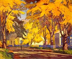 Casson, Canadian Group of SevenA. Casson, Canadian Group of Seven Emily Carr, Group Of Seven Artists, Group Of Seven Paintings, Canadian Painters, Canadian Artists, Landscape Art, Landscape Paintings, Tom Thomson Paintings, Collaborative Art