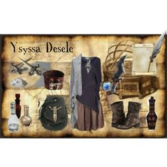 """Elder Scrolls Adventurer Two"" by crochetmonsteradict on Polyvore #elder #scrolls #skyrim #oblivion #morrowind"