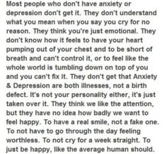 anxiety and depression - Google Search