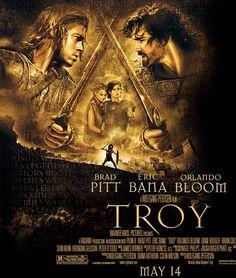 Brad Pitt, Eric Bana, Orlando Bloom, and Diane Kruger in Troy Troy Film, Troy Movie, See Movie, Movie Tv, Movie Theater, Brad Pitt, Eric Bana, Cinema Tv, Films Cinema
