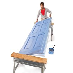 Painting doors? Proper preparation, the right tools and materials and good technique make a huge difference. Use these pro tips to make an old door look new again.