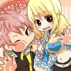 Natsu and Lucy | Fairy Tail