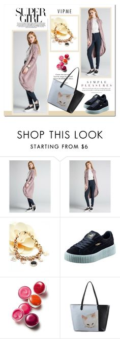 """""""VIPme"""" by adanes ❤ liked on Polyvore featuring Puma, Clinique, women's clothing, women, female, woman, misses, juniors and vipme"""