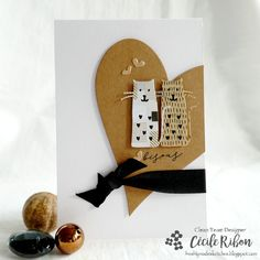 Challenge, Cat Cards, Animal Cards, Happy Wednesday, Play, Graphic, Heart Shapes, Sketches, Card Ideas