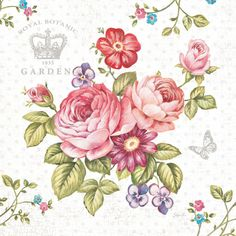 Elegant Roses I Print by Stefania Ferri at Art.com