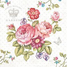 Elegant Roses I Print by Stefania Ferri at Art.com