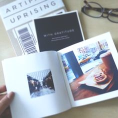 Artifact Uprising softcover photo book | size 5.5x5.5  available at: www.artifactuprising.com/site/softcover_photobook