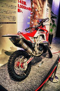 HONDA CRF450 RALLY  2013 DAKAR RALLY