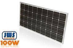 Solarpanel-Solarmodul-100W-12V-12Volt-100Watt-Wohnwagen-Wohnmobil-MONOKRISTALLIN