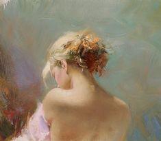 Pino Daeni oil painting
