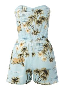 This island themed play suit is so sweet and only £5 from Primark. Log onto www.shoutmag.co.uk tonight for more tropical fashion treats.