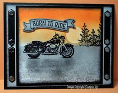One Wild Ride – Stampin' Up! Card created by Michelle Zindorf