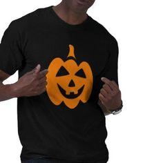 Happy, laughing Jack o lantern Halloween t-shirt.