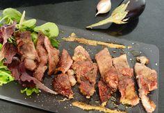 Cabezada de lomo Ibérico a la parrilla, Nod of Iberian loin to the gridiron,  #Iberian #pig  #parrilla #gridiron #grill  #cooking  #cocina  #dinners  #cenas  #recipes   #recetas  #spain  #food   #alimento