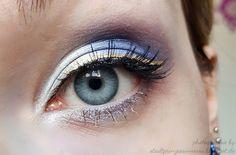 Sailor Uranus inspired makeup by http://stadtprinzessinnessa.blogspot.de/2016/03/sailor-uranus-blogparade-makeup.html