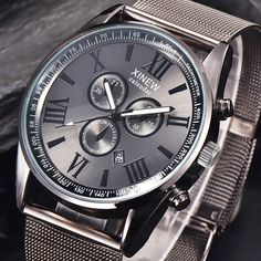 $4.71 (Buy here: https://alitems.com/g/1e8d114494ebda23ff8b16525dc3e8/?i=5&ulp=https%3A%2F%2Fwww.aliexpress.com%2Fitem%2FSplendid-Famous-Brand-XINEW-Men-s-Mens-Business-Clock-Date-Analog-Quartz-Stainless-Steel-Mesh-Wrist%2F32765419025.html ) Splendid Famous Brand XINEW Men's Mens Business Clock Date Analog Quartz Stainless Steel Mesh Wrist Watch Masculino Reloje for just $4.71