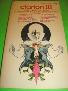 CLARION III EDITED BY ROBIN SCOTT WILSON 1ST OCT 1973 SIGNET PRINTING SF PB