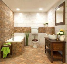 Koupelny od designéra SIKO KOUPELNY & KUCHYNĚ. Na Bianu najdete více než 50 000 inspirací pro krásné bydlení. Corner Bathtub, Vanity, Bathroom, Country, Furniture, Home Decor, Home, Dressing Tables, Washroom