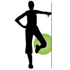 Ballon d exercice   Les jambes - Exercice pour abducteur  8f393a0f930