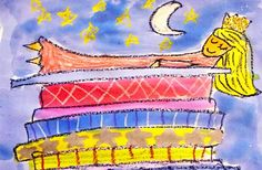 Princess and the Pea art