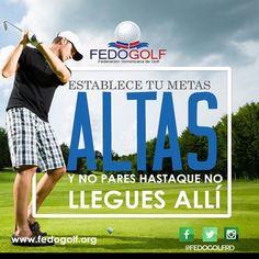 Solo  tu  puedes  poner  limites  a  tus  metas.  Feliz  viernes  #fedogolfRd #golf #instagolf #swing #grass #green #field #putter #hoyo #RD #DominicanRepublic #sport #deporte #Backspin #bola ##fairway #draw #driver #finish