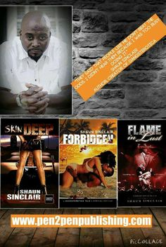 Check out these novels from Shaun Sinclair...  ONE CLICK TODAY!! http://www.amazon.com/Shaun-Sinclair/e/B00J6C185E/ref=dp_byline_cont_book_1 Check out Shaun's website today... www.pen2penpublishing.com