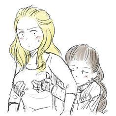 Lexa & Clarke, Clexa