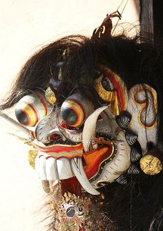 Balinese traditional wooden mask by Not_Enough_Megapixels We Are The World, Gcse Art, Balinese, Mythology, Culture, Traditional, Hinduism, Abstract, Southeast Asia
