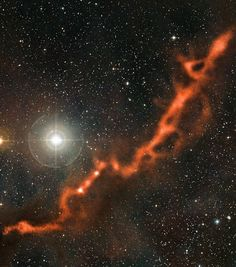 The #TaurusMolecularCloud (#TMC1), is an exceptional powdery strand in the #ConstellationTaurus, about 450 light-years away & contains many complex molecules. The top right of the image is known as #Barnard211, the portion going down down, left, as #Barnard213.