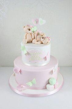 Nice christening cake