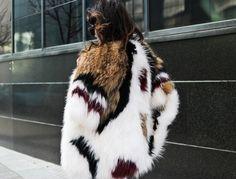 Madame de Rosa wearing a coat by Zaitegui   https://www.facebook.com/ModasZaitegui?fref=ts
