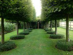Wyken Hall English garden