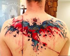 Huge mine Of Upper Back Tattoos designs. Get some most amazing Upper Back Tattoo ideas with meaning. These are the latest Upper Back Tattoos designs for men Back Tattoos, Great Tattoos, Future Tattoos, Beautiful Tattoos, Body Art Tattoos, New Tattoos, Tattoos For Guys, Tatoos, Amazing Tattoos
