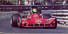 "Henri Pescarolo (March 731 G) Grand Prix d'Espagne ""Montjuich"" 1973 - alpha auto c.1976"