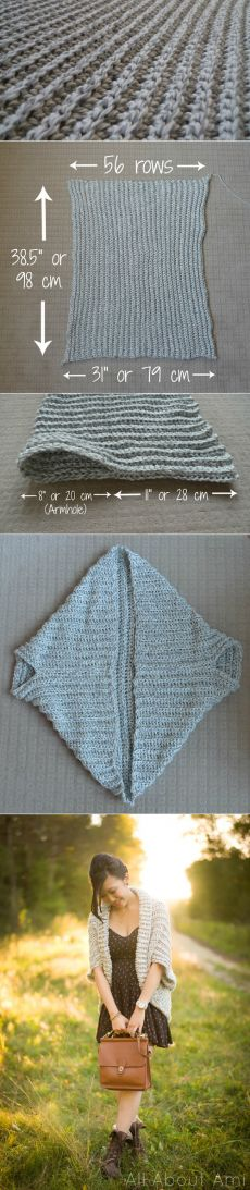 Easy Chunky Crochet Sweater | All About Ami