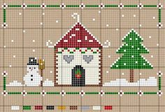 Thrilling Designing Your Own Cross Stitch Embroidery Patterns Ideas. Exhilarating Designing Your Own Cross Stitch Embroidery Patterns Ideas. Cross Stitch House, Xmas Cross Stitch, Cross Stitch Cards, Cross Stitching, Cross Stitch Embroidery, Cross Stitch Christmas Ornaments, Christmas Cross, Cross Stitch Designs, Cross Stitch Patterns