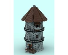 Casa Lego, Round Tower, Lego Castle, Lego Parts, Group Of Companies, Age, Legos, Castles, Real Life