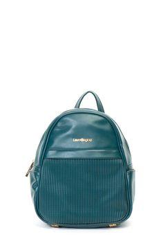 Rucsac de piele ecologica, cu segment cu striatii Laura Biagiotti (LB18W-113-4D-OTTANIO) | Fashion Days Segment, Laura Biagiotti, Fashion Backpack, Backpacks, Bags, Handbags, Backpack, Backpacker, Bag