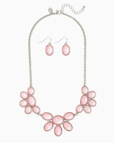 charming charlie | Petal to the Metal Necklace Set | UPC: 400000167725 #charmingcharlie