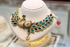 Latest Kerala Jewellery Designs 2017 from Joyalukkas jewelry kerala Kerala Jewellery, Fancy Jewellery, Gold Jewellery Design, Stylish Jewelry, Fashion Jewelry, Gold Jewelry, Handmade Jewellery, Gold Bangles, Wedding Jewelry