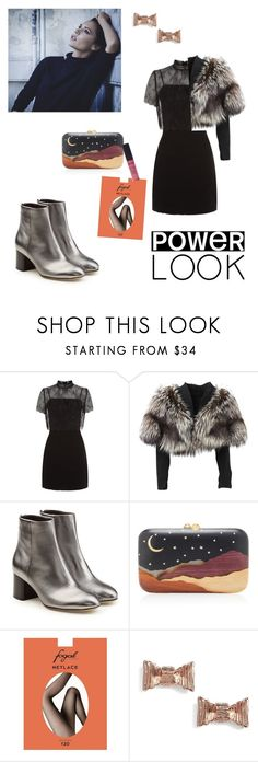 """""""Untitled #193"""" by magnusx ❤ liked on Polyvore featuring Victoria Beckham, Sandro, Lolita Lempicka, rag & bone, Silvia Furmanovich, Fogal, Kate Spade, NYX, girlpower and powerlook"""