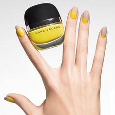 Yellow Pop | Marc Jacobs Beauty Enamored Hi-Shine Nail Lacquer #nailpolish #nailart #mani