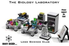 Hello and welcome to my next Lego Idea: The Biology Laboratory / Lego…