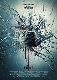 Horror Movie Poster Art : The Thing 1982 by Scott Woolston Horror Movie Posters, Best Movie Posters, Cinema Posters, Movie Poster Art, Horror Movies, American Horror Story Seasons, Kino Film, Kunst Poster, Alternative Movie Posters