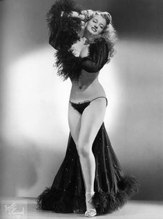 Vintage Burlesque - Betty Howard