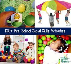 Preschool Social Skills Activities