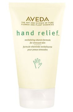 Aveda' hand relief™' Hand Cream | Any of my friends who are nurses or work in daycare/schools need to check this stuff out! Keeps your hands hydrated even after washing them multiple times!